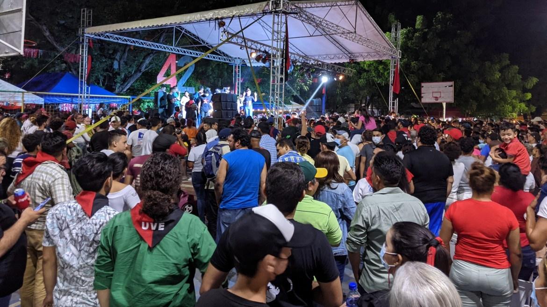 Sandinista revolution vigilia San Antonio 2021