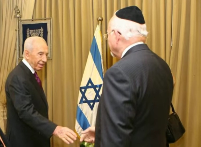 Venezuela Pynchas Brener Shimon Peres Israel