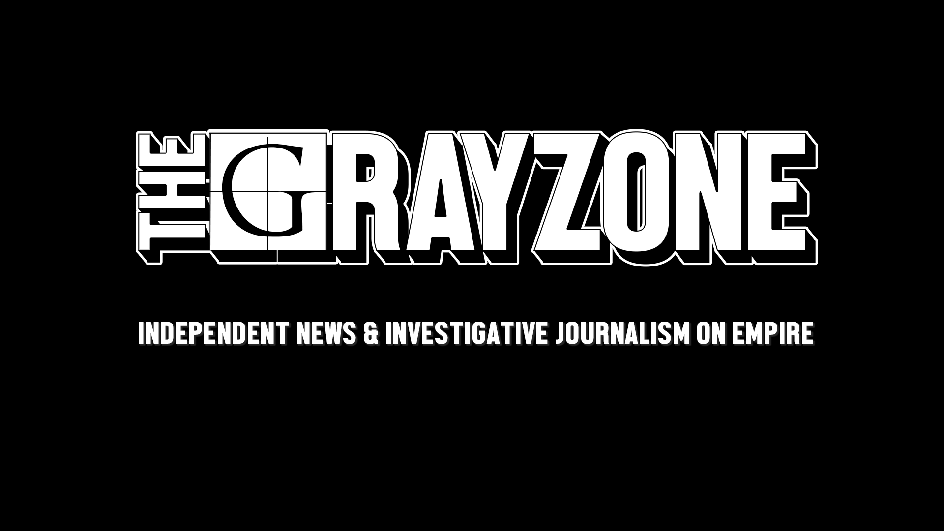 the grayzone header tagline
