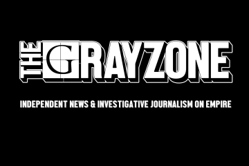 the grayzone header tagline