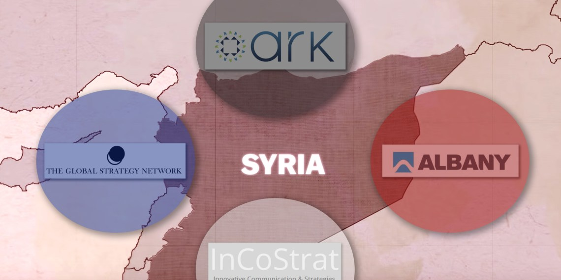 Syria leaks UK contractors war opposition media