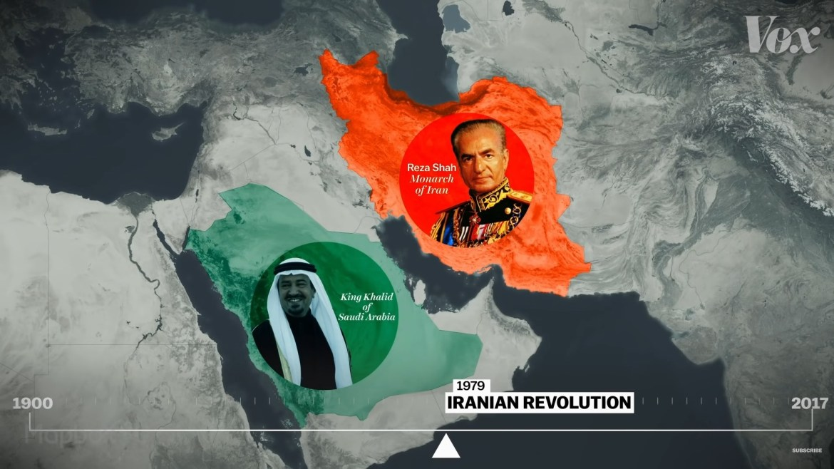 Vox Middle East cold war Iran shah Saudi king