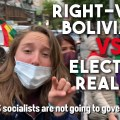 bolivia right wing protest election