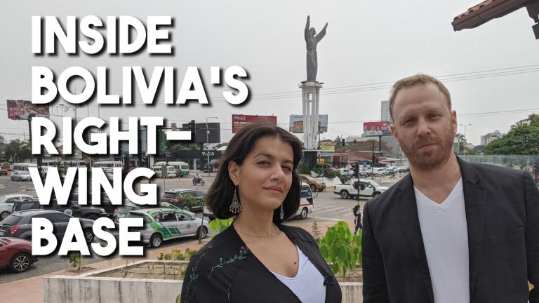 Bolivia Santa Cruz election Camacho