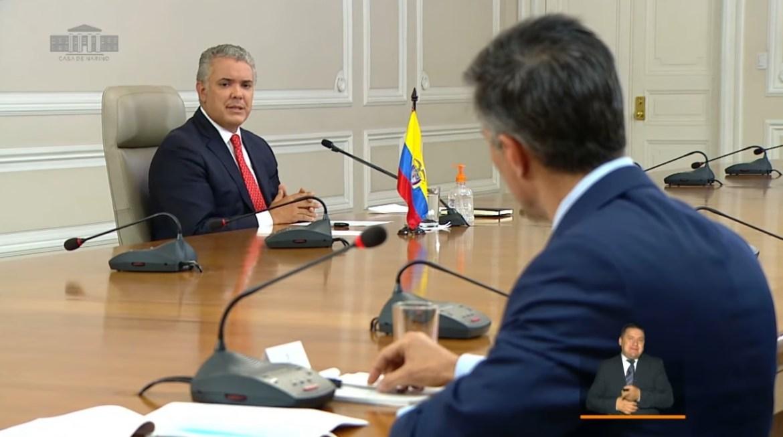 Ivan Duque Leopoldo Lopez Colombia