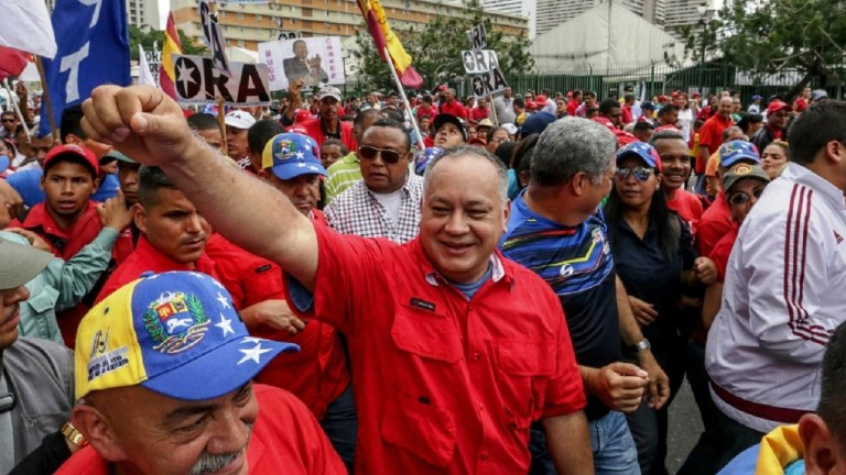 venezuela diosdado cabello threat food starve voters