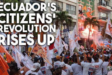 Guayaquil Ecuador protest election