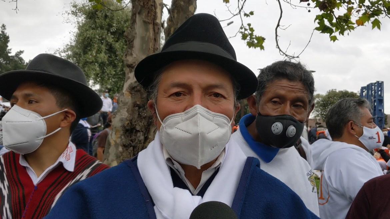 Ricardo Ulcuango Interview Ecuador