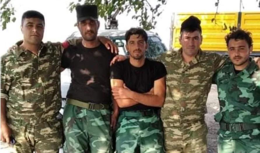 Syrian rebels Azerbaijan Nagorno Karabakh