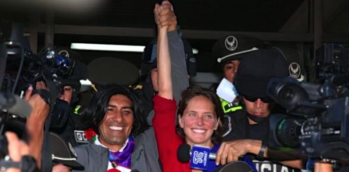 Yaku Perez Manuela Picq Ecuador Correa