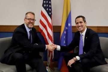 US ambassador Venezuela James Story Juan Guaido