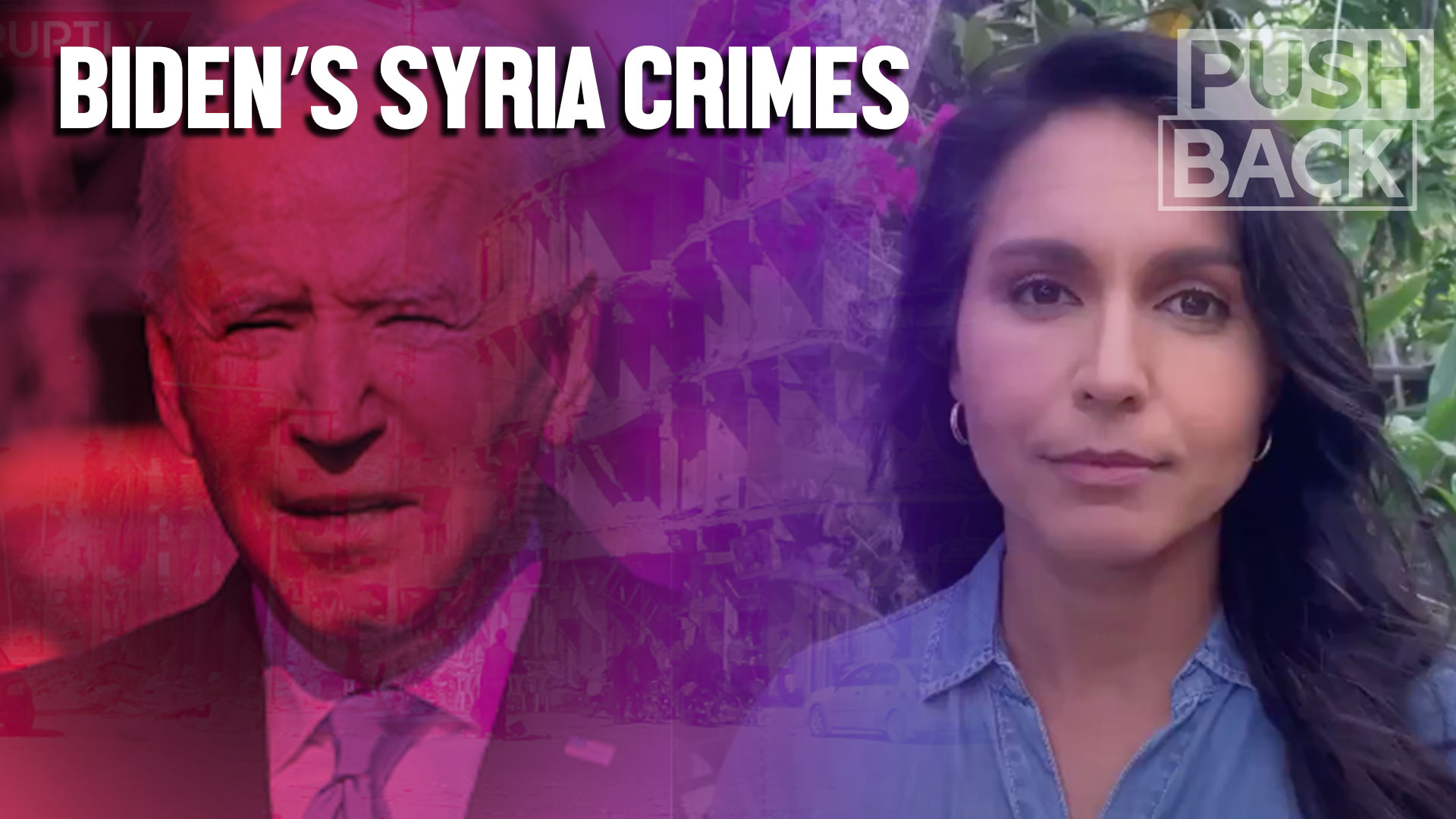 Tulsi Gabbard calls out the US dirty war on Syria that Biden, aides admit to | The Grayzone