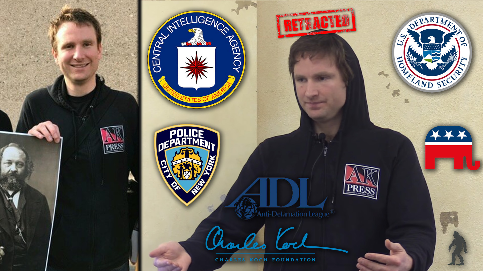 anarchist Alexander Reid Ross CIA DHS police SPLC