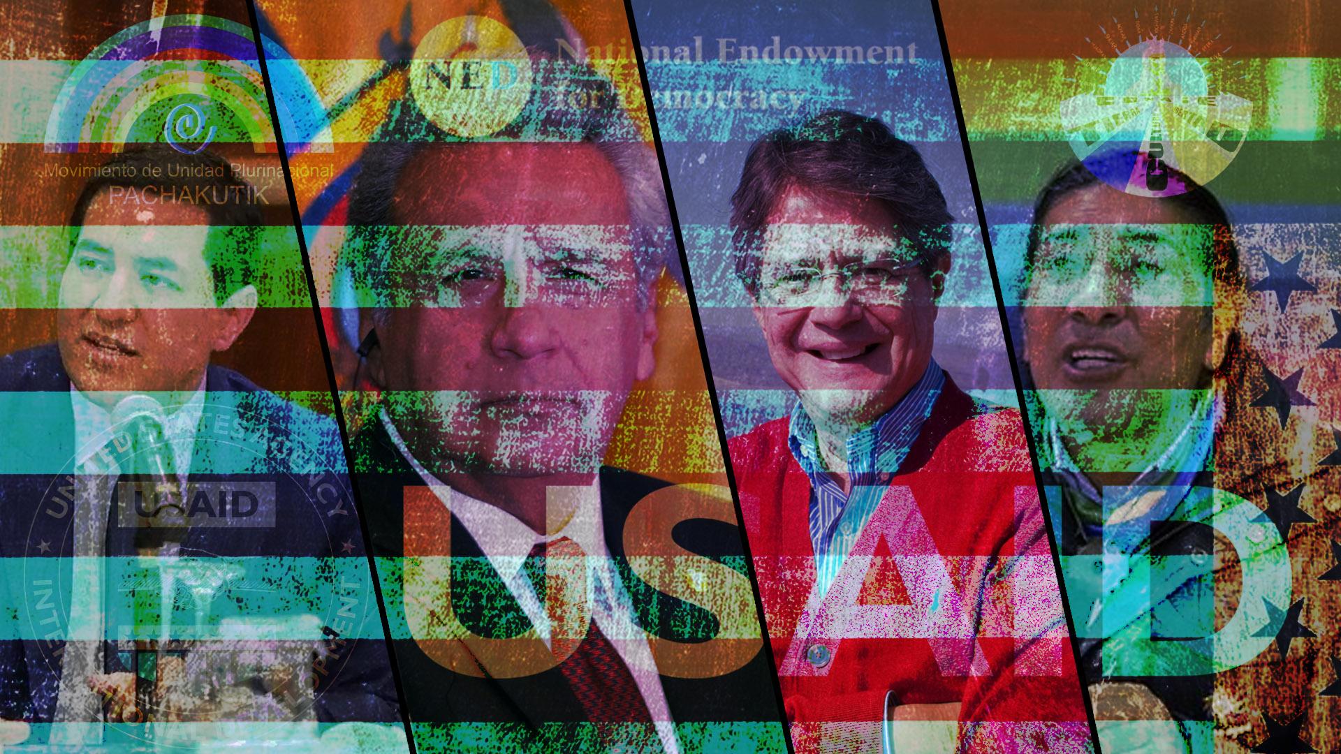 Elecciones en Ecuador 2021 Lasso Arauz Yaku intromisión en Estados Unidos
