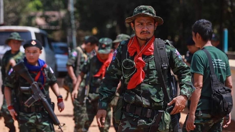 Myanmar militia armed