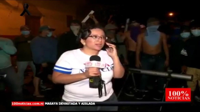 100 Noticias tranques golpe de Estado de Lucía Pineda USAID