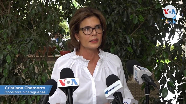 Cristiana Chamorro Nicaragua VOA