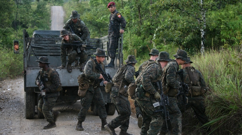 US military special forces training Guatemala Kaibiles