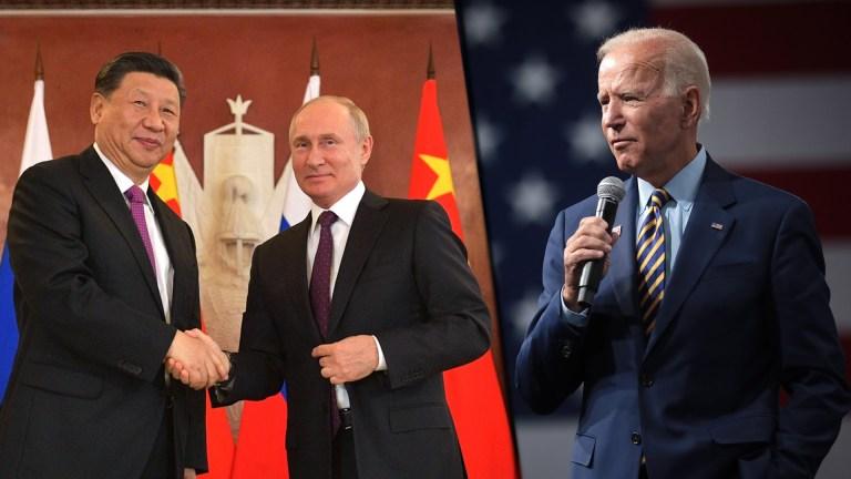 new cold war China Russia Biden
