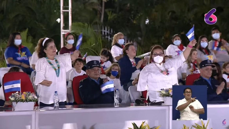 Sandinista women lost arms hands revolution Ortega