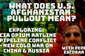US Afghanistan CIA opium pipeline