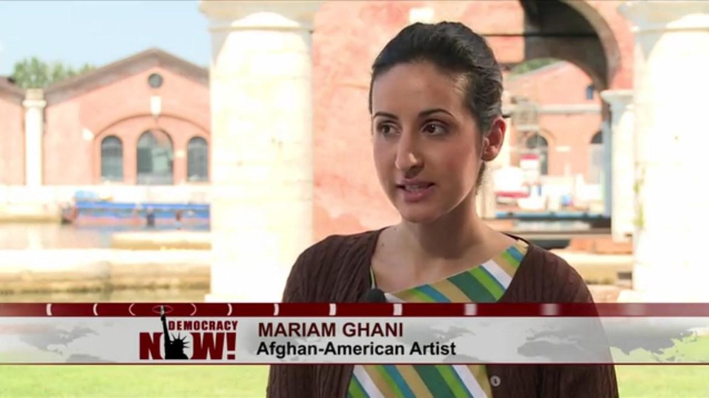 Mariam Ghani Democracy Now Afghanistan