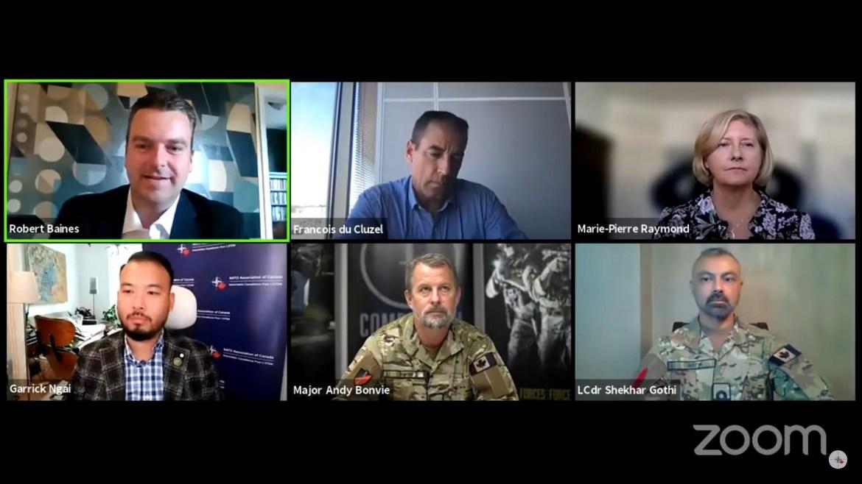 NATO cognitive warfare Canada panel