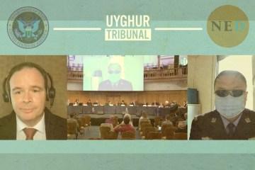 Uyghur Tribunal US government NED