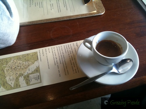Ethiopian Blend Coffee @ Penny Farthing Expresso