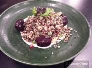 Quinoa Salad, White Zucchini, Pomegranate, Shanklish, Honey Yoghurt