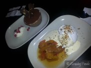 Desserts at Boney