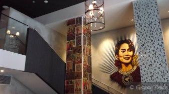 An San Suu Kyi Mural