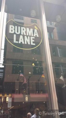Burma Lane