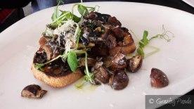 Mushroom - Sauteed Selection, Creme Fraice, Pecorino, Truffle Oil on Sourdough
