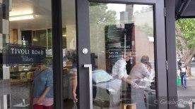 Entrance to Tivoli Road Bakery