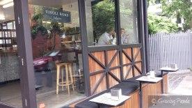 Outside Seating at Tivoli Road Bakery