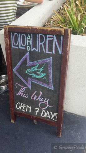 Come inside Lolo and Wrenn