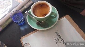 Espresso at Lolo and Wren