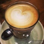 Latte at Alice Nivens