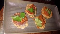 Chickpea and Corn Cakes with Okra and Kusandi