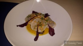 Duck, Satay, Turnips