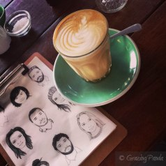 Latte at Tomboy