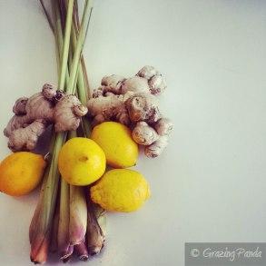 Lemons, Lemongrass & Ginger