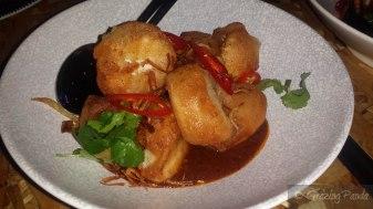 Salt & Pepper Silken Tofu + Chilli Jam