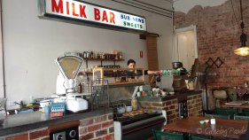 The awesome vintage MilkBar Sign