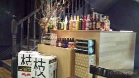 Colourful Display at Shizuku Ramen
