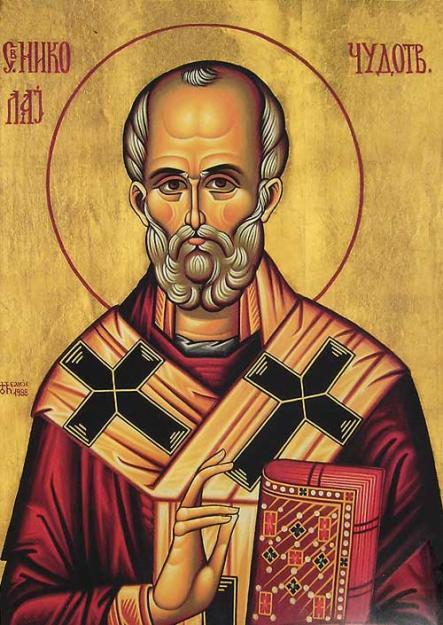 Икона Св. Николе