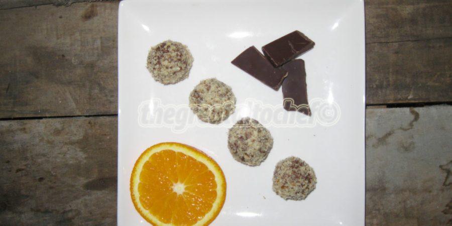 Труфле са поморанџом (truffes à l'orange)