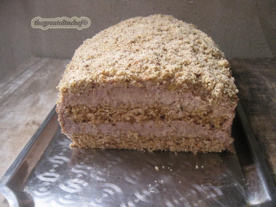 Ето драги моји феноменална торта коју смо отргли од заборава. Ово је рецепт моје баке а иначе торта постоји у разним варијацијама. Ово је основа. На здравље и спасење! Пријатно!