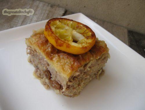 Пита-баклава са јабукама
